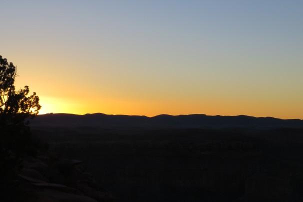 Grand-Canyon-por-do-sol