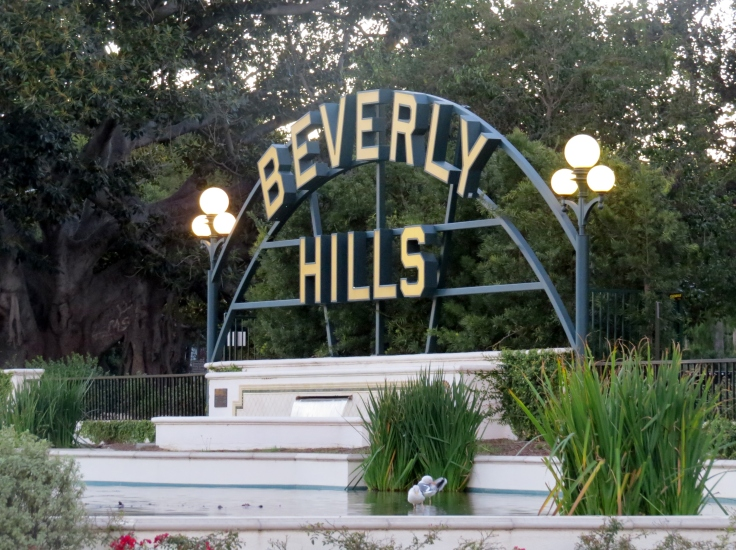 Letreiro Beverly Hills Los Angeles
