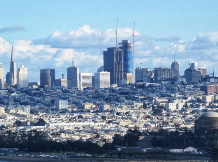São Francisco cidade da Califórnia no inverno