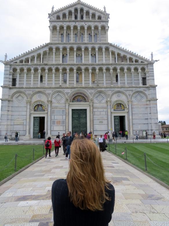 Fachada da Catedral de Pisa Toscana Itália