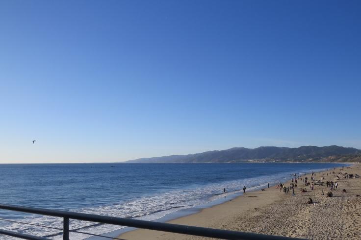 Praia em Santa Monica Los Angeles