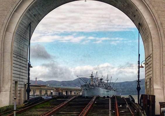 Entrada do San Francisco Maritime and National Historical Park