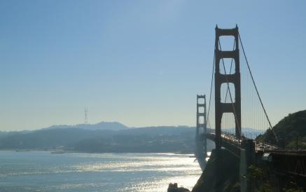 Ponte vista do mirante Norte