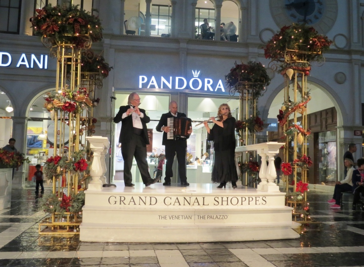 show de música italiana Venetian Las Vegas